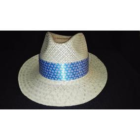 Sombrero Napolitano Artesanal Palma Yucatan Gratis Envio