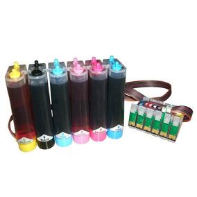 Bulk Ink Para Impressora Epson T50/r290/tx720/r270 Com Tinta