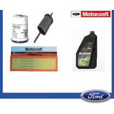 Kit Aceite F50e + Filtros Originales Ford Fiesta 1.6 Rocam