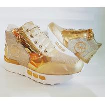 Bota Zapato Calzado Mk Colombiano De Moda Para Dama Niñas