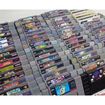 Lote Cartuchos Snes - Super Nintendo