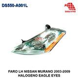 Faro Izquierdo Nissan Murano 2003-2009 Halogeno