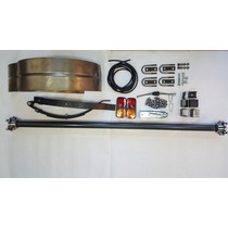 Eje Trailer Kit 450kg + Guardabarros +accesorios Completo