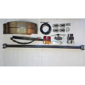 Eje Trailer Kit 450kg + Guardabarros +accesorios Completo