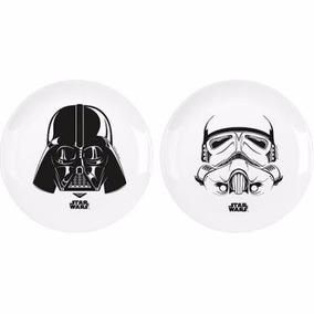 Pratos Star Wars Darth Vader E Stormtrooper - Imaginarium