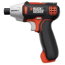 Negro Y Decker Destornillador Con Impacto Mecanismo Bdcs80i
