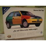 Publicidad Volkswagen Gol Top Año 1997
