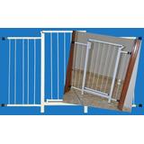 Portão Grade Proteção Porta Cão Pet Cães 134 Cm A 139 Cm