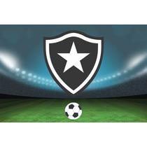 Painel Decorativo Festa Infantil Futebol Botafogo (mod15)