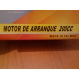 Motor De Arranque 200 Cc Jaguar Leon Otros