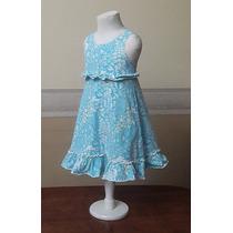 Vestido Importado Nena Verano, Disney Store, 3-4 Años Usa