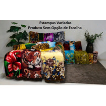 Kit 5 Cobertores Manta Casal Micro Fibra + Brinde (promoção)