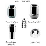 Tuercas De Ring Tunner Acero Bulger Magnesio Y Esparragos