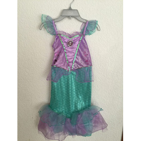 Vestido Ariel La Sirenita Disney Store Original Talla 5