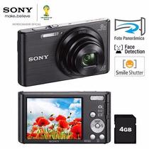 Câmera Digital Sony Dsc-w830   Preta   20.1 Megapixels