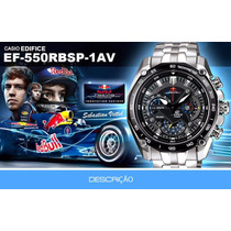 Relógios Casio Edifice Red Bull 100%original
