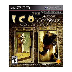 Ico & Shadown Of Colossus Collection Hd Ps3 Novo Envio Já