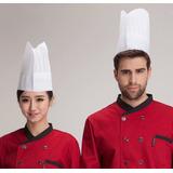 Touca Chapéu Cozinheiro Cozinha Chef Toque Blanches