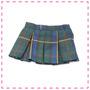 Uniformes Falda Escocesa Verde-azul Para Muñeca
