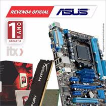 Kit Asus M5a78l-m Lx/br + Amd Fx-6300 3.5ghz + 8gb Gamer
