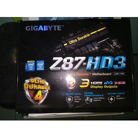 Placa Mãe Gigabyte Z87 Hd3 Lga1150