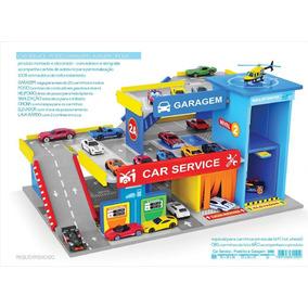 Car Service Postinho E Garagem ( Hot Wheels ) Ref. 090