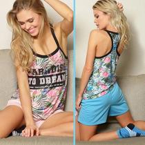Pijama Musculosa Y Pantalon Marcela Koury 4451
