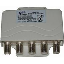 Diseqc Switch 4x1 Para Fta