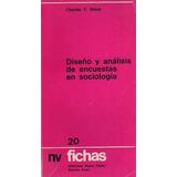 Diseño Y Análisis De Encuestas En Sociología De Ch. Y. Glock