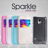 Case Protector Con Tapa Flip Nillkin Sparkle Samsung S5 Mini