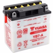 Bateria Yuasa Yb7-a Suzuki Yes 125/ Katana 125 /intruder 125