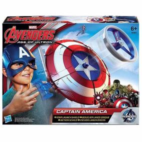 Escudo Lançador Avengers Capitao America Hasbro Na Caixa