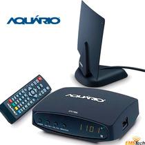 Kit Conversor Digital Aquário Dtv-7000 + Antena Dtv-200 Hd