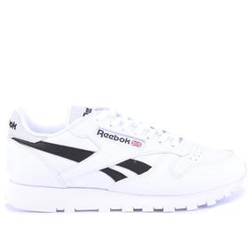 Tênis Reebok Classic Leather Pop White Black Ar0298