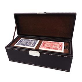 Estuche De Poker Con Fichas, Cartas Y Dados
