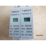 Dps Dispositivo Proteção Surtos 600vcc 40/20ka Dc Cc Solar