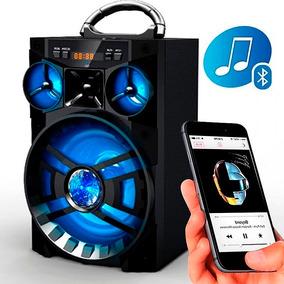Super Caixa De Som Bluetooth 2.1 15w Ubs Cartão Sd Aux E13