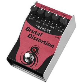 Pedal Guitarra Distortion Landscape Brutal Distortion Brd2