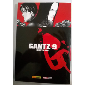 Mangá Gantz Nº 09 - Editora Panini - Frete Grátis