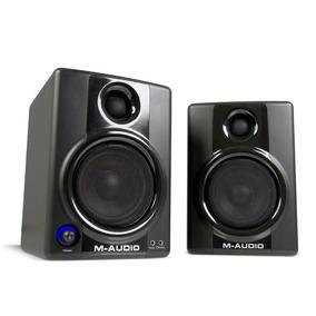 Monitores De Estudio M Audio Studiophile Av40 Monitor Mezcla