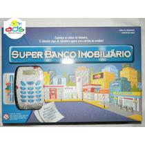 Super Banco Imobiliário + Maquininha De Cartão- Melhor Preço