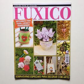 Revista Arte & Criação Fuxico Bolsa Vaso De Tulipas N°16