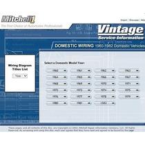 Mitchell Ondemand5 Vintage Launch 1960 A 1982 Automotriz