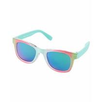 Óculos Carters Infantil Rosa C/ Verde Lindo 4-8 Original Eua