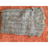 Original Sweater Lana Artesanal Chilote Teñido Natural L