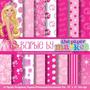 Kit Imprimible Pack Fondos Barbie 2 Clipart 32