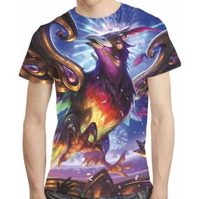 Camisa Game League Of Legends Camiseta Anivia Carnaval