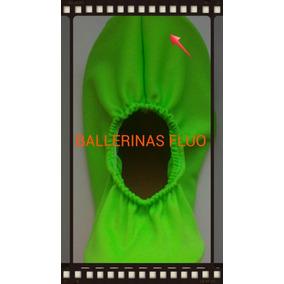 Badanas Chatitas Ballerinas Cotillón Fluo Fin De Fiesta 15