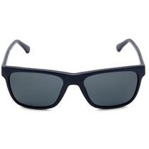 Óculos De Sol Emporio Armani Azul Petróleo Lente Cinza