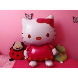 2 Globos Hello Kitty, Para Fiestas, Decoraciones Ó Regalo.